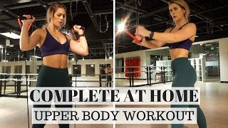 完成UPPER BODY鍛煉| WHITMAS DAY 11 出處 Whitney Simmons