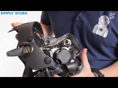 OceanReef Space Extender Integrated Dive Mask – www.simplyscuba.com