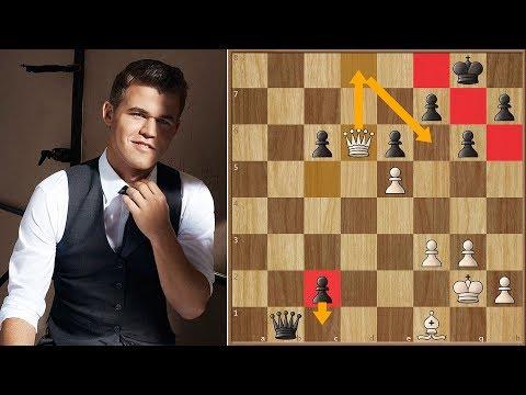 Magnus Carlsen Shows Ding Liren who's Boss