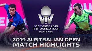 Xu Xin vs Hugo Calderano | 2019 ITTF Australian Open Highlights (1/4)