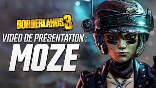 Borderlands 3 - Vidéo de Présentation - Moze