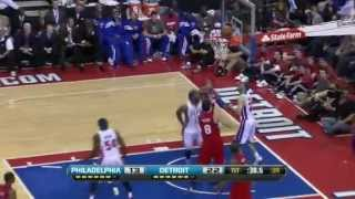 Pistons vs.76ers - 4/26/12(Ben Wallace last game......Possably!)