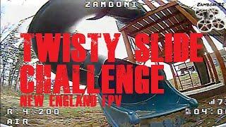 Twisty Slide Challenge / New England FPV / Tinyhawk 2