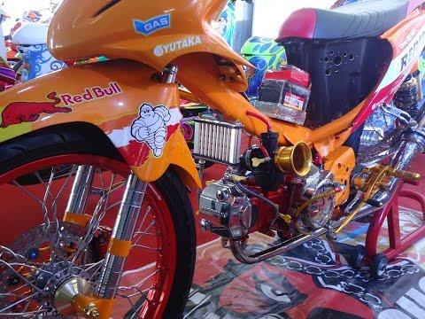 Video Detail Modifikasi Motor Honda Blade Drag Style Thailand