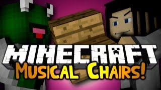 Minecraft: Mini Game: Musical Chairs! W Gizzy & Friends!