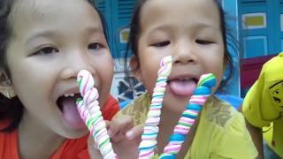 Trò Chơi Của Bé Tập 2 ❤ KN Cheno Bé Na ❤ Hát Kẹo Màu Sắc Đồ Chơi Trẻ Em Toys For Kids