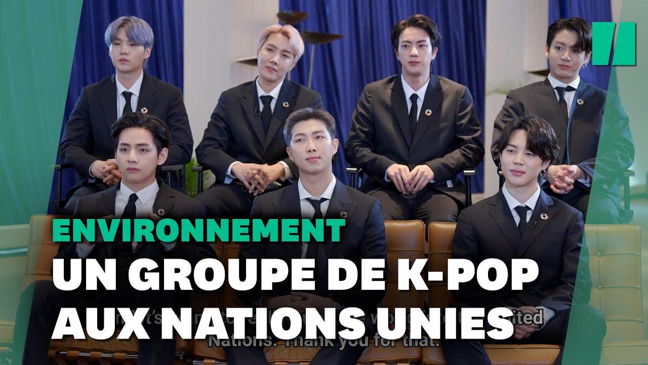 BTS, groupe star de Corée du Sud, invité à l'ONU pour parler développement durable