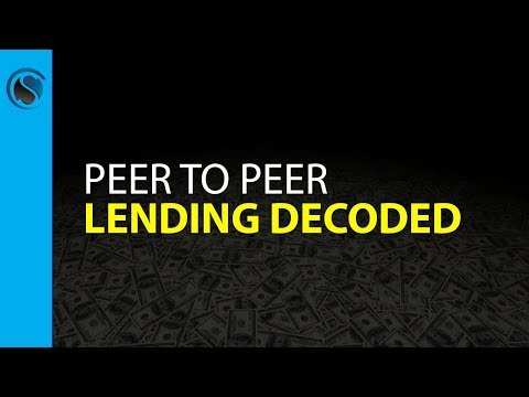 , title : 'Peer to Peer Lending Decoded