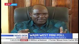 IEBC chair Wafula Chebukati confirms that they are logistically prepared for the Wajir west polls