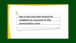 Font Size for Powerpoint Presentation | Powerpoint Tip