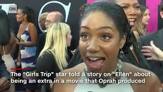 Tiffany Haddish is all of us when meeting Oprah