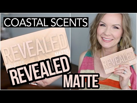 Revealed Matte Eyeshadow Palette by Coastal Scents #7