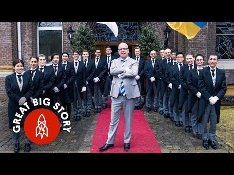 Škola pro komorníky - Great Big Story