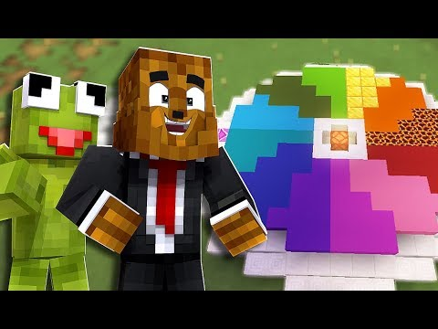 The Mystery Wheel Trolls Me - Minecraft The Cube SMP #2