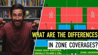 Xs & Os: What are the Differences in Zone Coverages?