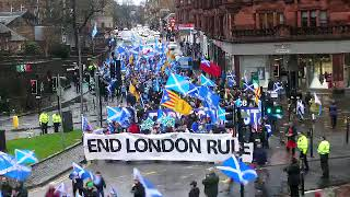 80,000 march for Independence in Glasgow 11-Jan-2020