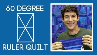 Rob's 60 Degree Ruler Quilt