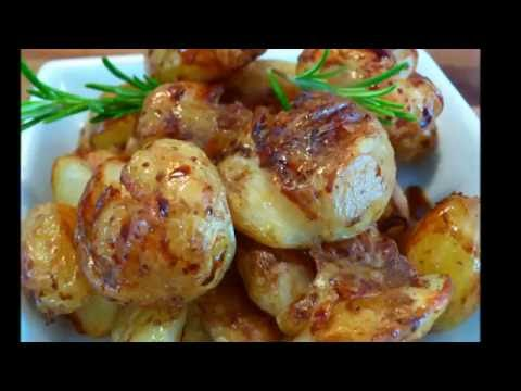 Video Roast new potatoes with balsamic vinegar