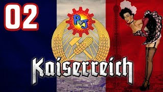 Let's Play Hearts Of Iron 4 | HOI4 Kaiserreich Mod Gameplay | Commune Of France Part 2