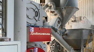 Производство минерального порошка на мельнице