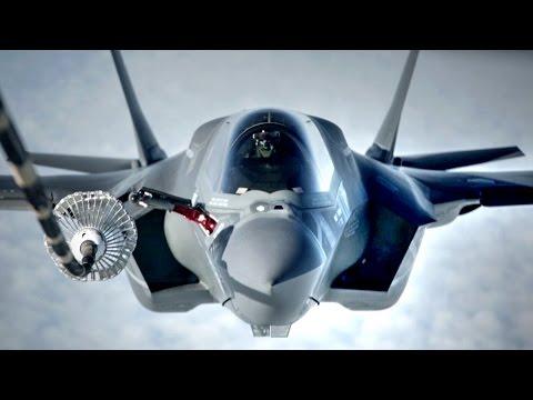 F-35B Transatlantic Refueling
