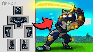 Mecha SAMURAI Warrior in Minecraft! (Scramble Craft)