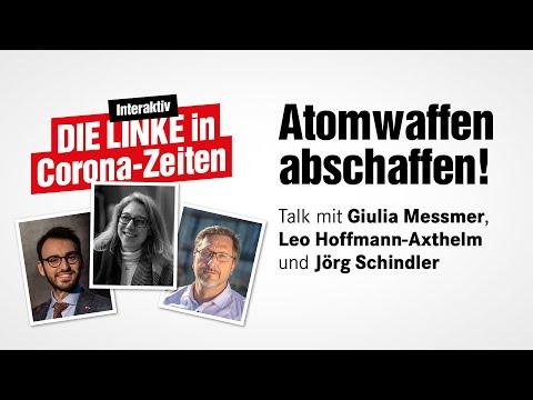 Talk mit Jörg Schindler – Thema: Atomwaffen abschaffen
