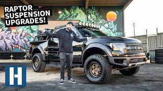 Blown Raptor Shocks = Worst! Suspension Overhaul on Vin