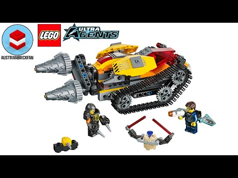 Vidéo LEGO Ultra Agents 70168 : Le diamant de Drillex
