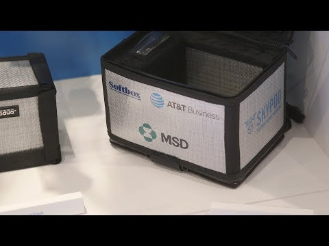Connecting Medical Payloads Carried by Drones-youtubevideotext