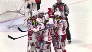 preview picture of video 'HC Orli Znojmo vs  EC-KAC - Highlights'