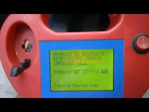 Duplicado de llave Toyota Sienna 2005 Programacion llave perdida SBB Chip TP30