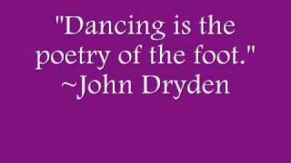 Dance Quotes(new)