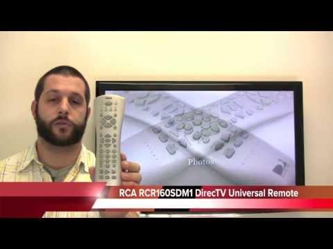 RCA RCR160SDM1 Satellite Receiver Remote Control