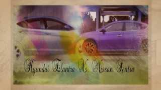 preview picture of video 'Hyundai Elantra Vs. Nissan Sentra'