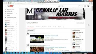 Infovideo: Promovare Canalu