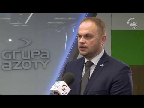 Paweł Łapiński - Wiceprezes Grupy Azoty o wynikach finansowych trzeciego kwartału 2016 - zdjęcie