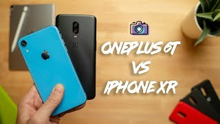 OnePlus 6T vs Apple iPhone XR Camera Comparison!