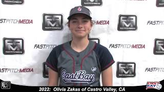 2022 Olivia Zakas Outfield Softball Skills Video - Eastbay Fastpitch