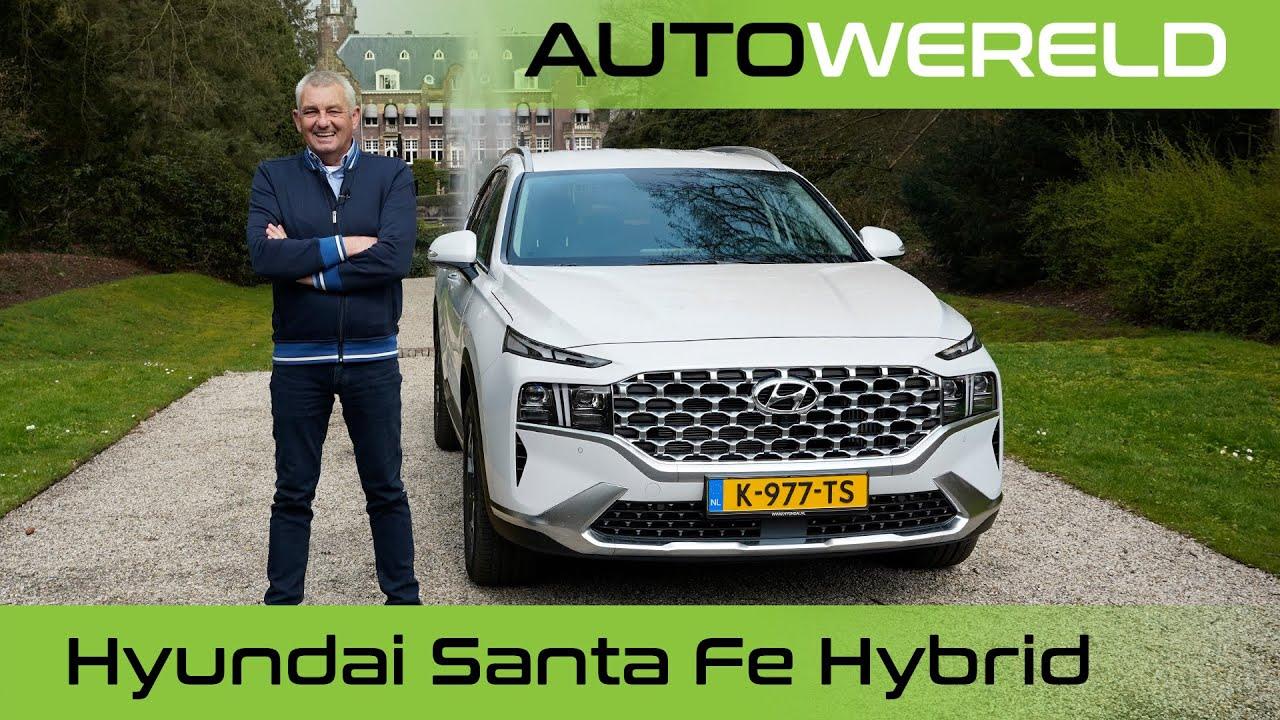 Hyundai Santa Fe Hybrid (2021) review met Allard Kalff