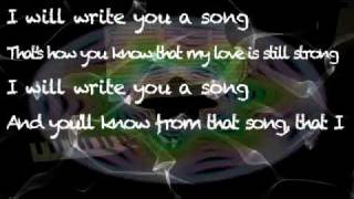 Write You a Song (Plain White T's) Piano Cover & Lyrics