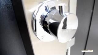 Гідромасажна панель Invena Peleus від компанії Vemar - все для дому - відео