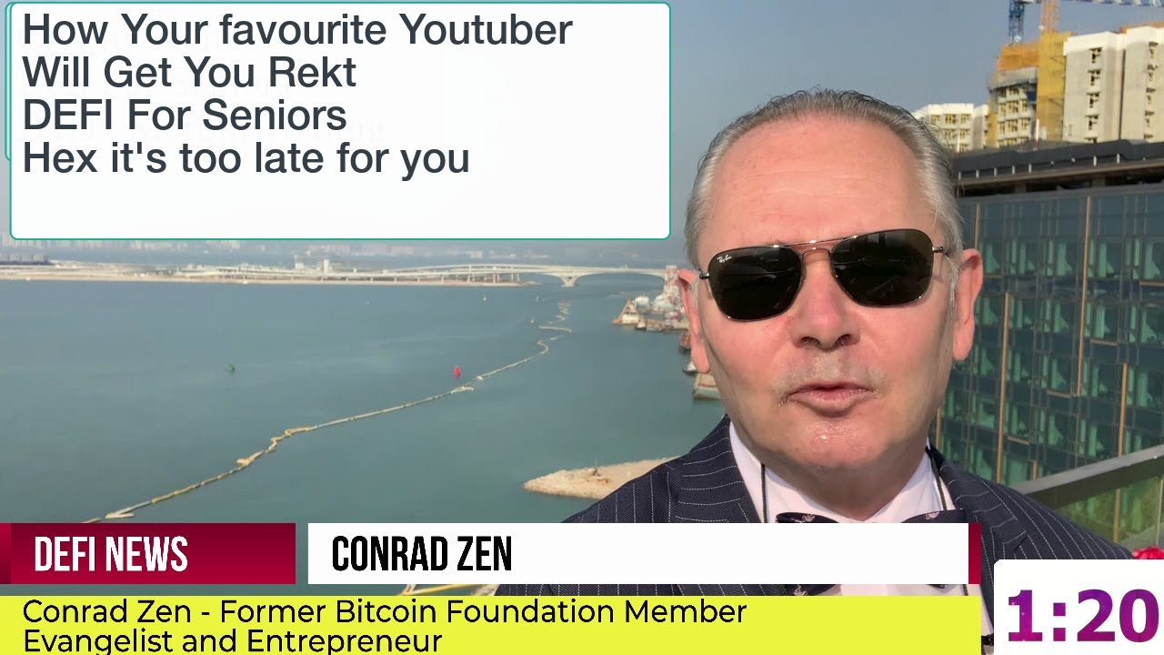 Youtubers will get you rekt: Decentralised Financing The New World: It's Far Too Late For Hex