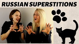 Russian superstitions / Русские суеверия / from Nika and Ira | RU & EN CC