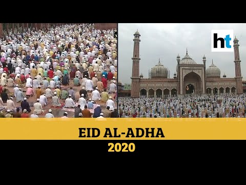 , title : 'Watch: Devotees offer prayers as nation celebrates Eid al-Adha amid pandemic'