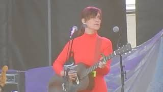 """Feist live """"The Bad in Each Other"""" @ Homecoming Festival April 29, 2018"""