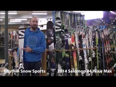 2014 Salomon 24 Hour Max Ski Review