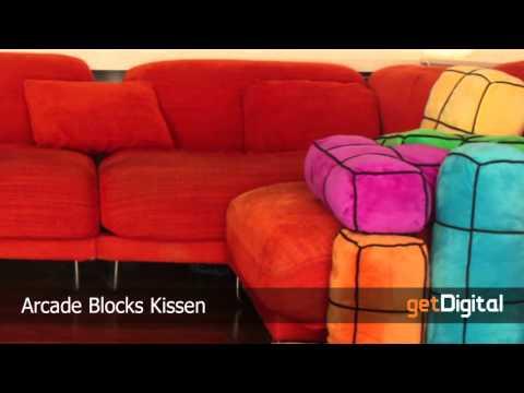 Arcade Blocks Kissen - getDigital.de