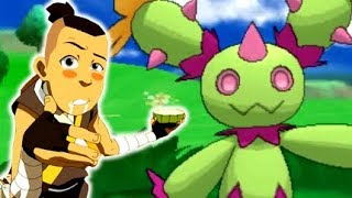 Maractus  - (Pokémon) - SHINY CACTUS JUICE! Live Shiny Maractus Reaction! Pokemon Shiny Hunting