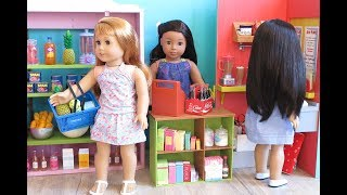 American Girl Doll Supermarket Grocery Store - Video Youtube